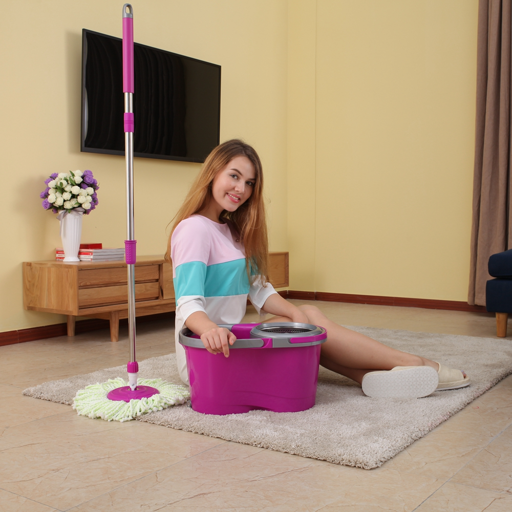 Super Fast Wringing Super Simplifed Design magic mop stick cotton mop