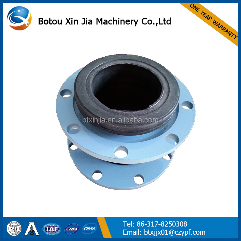single ball flexible rubber expansion joint for building