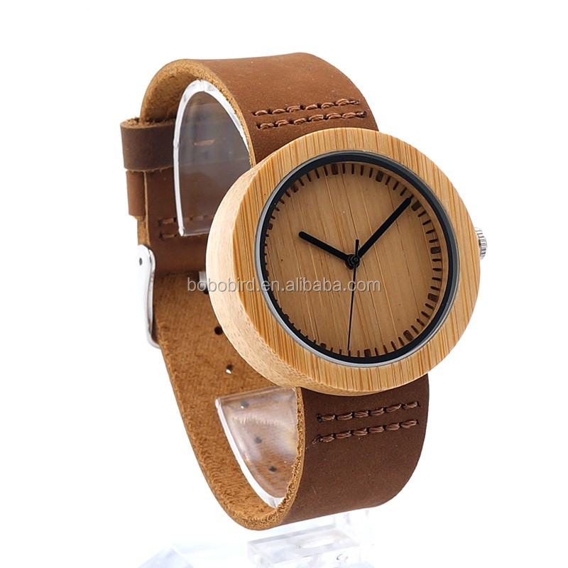 Wood Top Quality woMen OEM Leather Watch List Brands Wholesale