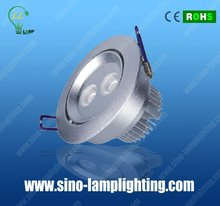 High efficiency hot selling dimmable 6w led downlight