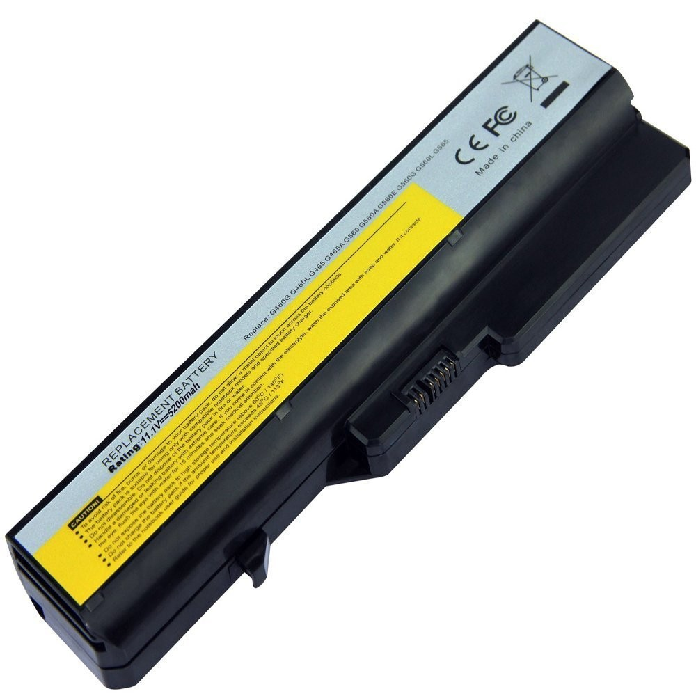 6 Cells 11.1V 5.2Ah 5200mAh Laptop Battery for Lenovo G560