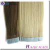 Large Stock Top Quality Virgin Hair Virgin Remy Human Hair Pu Skin Weft Cheap Price
