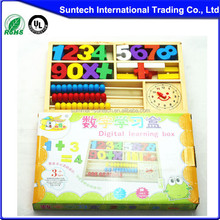 2015 fashion number puzzles/educational wooden alphbet puzzle toys/number learning puzzle