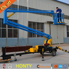 removable telescopic hydraulic platform lifts equipment for 1 person