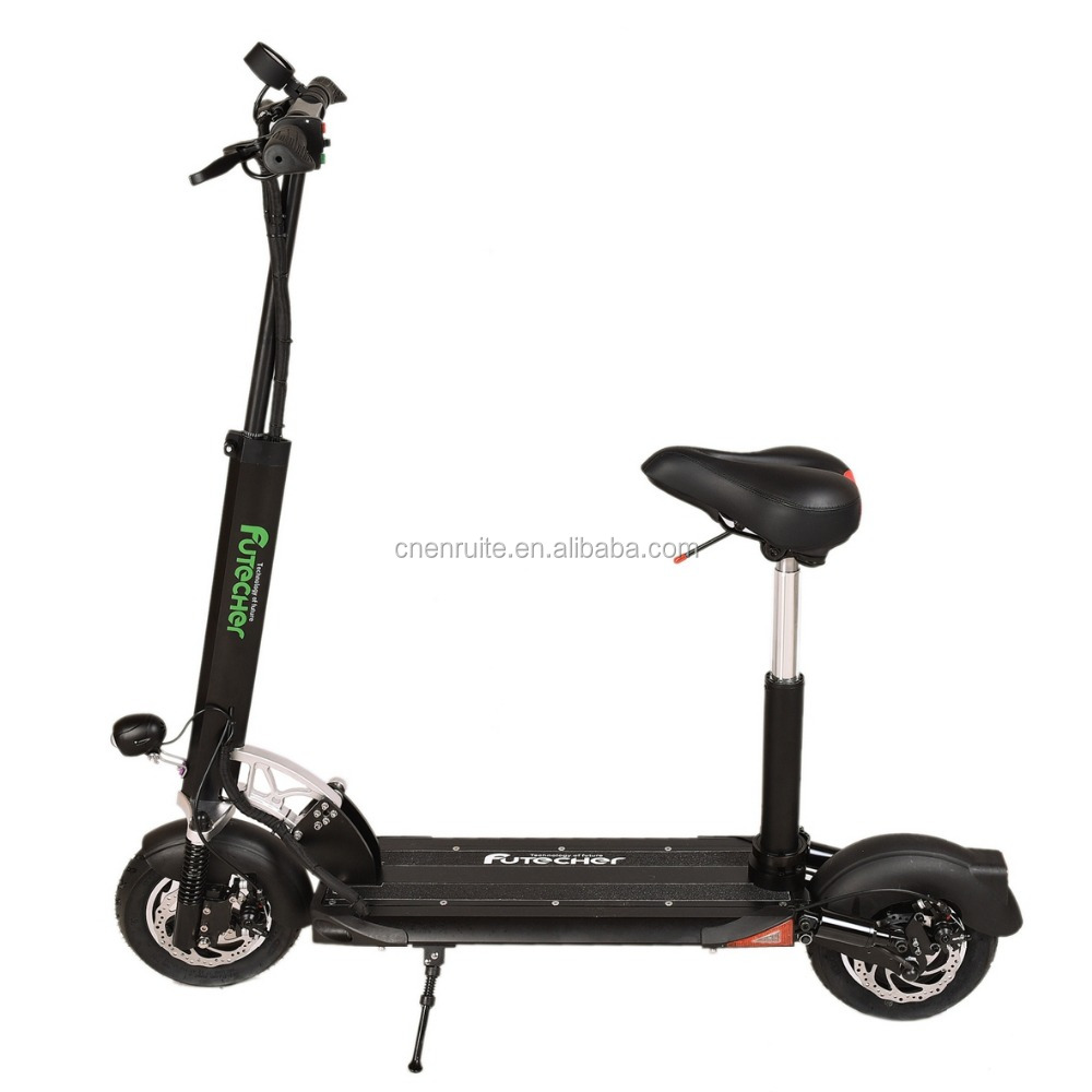 Snow Portable CE&ROHS Smart Kick Electric Scooter Moped front and Rear Double suspension Specification From China To Bangkok