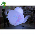 Custom Advertising LED Lighting Up Teapot Shapes / Giant Inflatable Teapot for Display