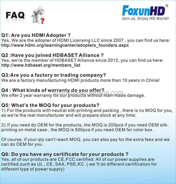 Foxun factory price SX-MX08, 8x8 HDMI Matrix support 4Kx2K @60Hz, HDCP 2.2 compliant, with Audio output over coaxial