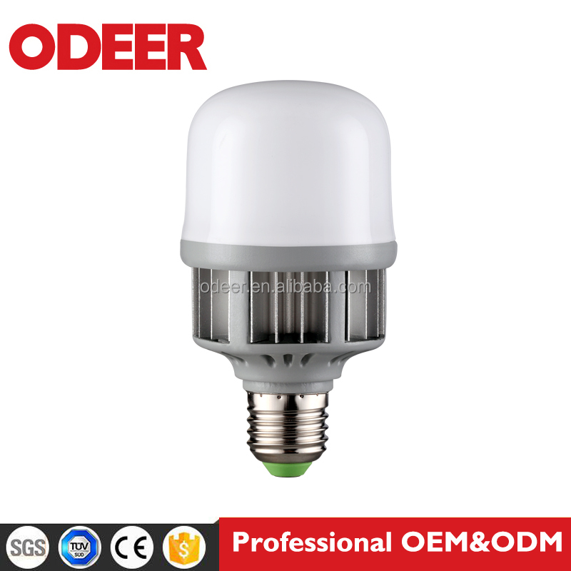 New arrival High bay 13W 18W 24W 32W 38W 48W 55W 220V AC 80lm/W aluminum LED bulb light