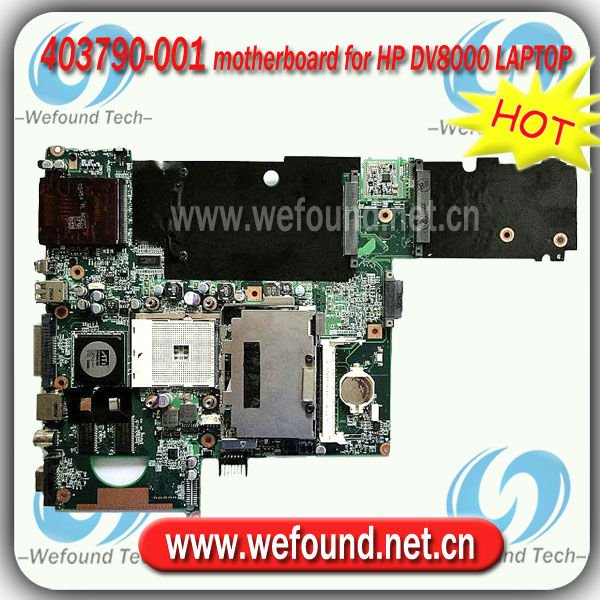 403790-001 motherboard for HP DV8000 LAPTOP
