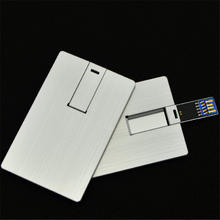 China suppliers metal credit card style usb flash memory usb 3.0
