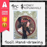 High quality famous handmade drawings art beauty