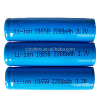 lithium battery factory wholesale price YJ18650 2200mAh rechargeable li ion battery 18650 3.7v 2200mah