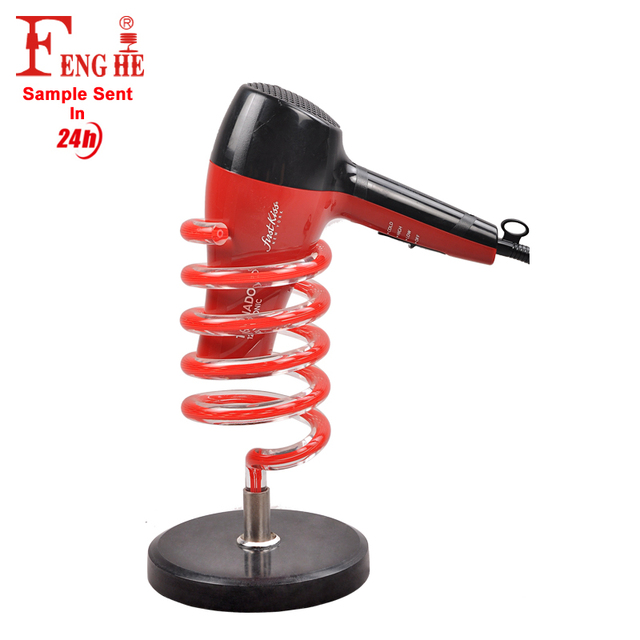 Professional hair salon equipment hair dryer stand hair dryer holder
