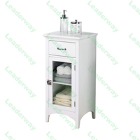 New Design Mdf Standing Luxury Bathroom Vanity Cabinet