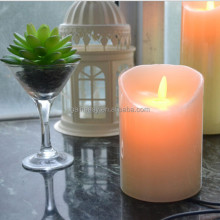 China wholesaler led votive oblatory imitated flare pure paraffin wax craft birthday gift outdoor dinner candle lights