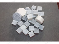 Leading manufacturer supply granite ice cube with natural color
