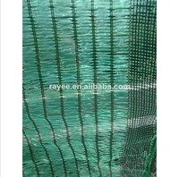 Plastic Tensile Net/ net agricultura sombra green and black color