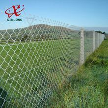 Anti-corrosion decorative used wire mesh chain link fence