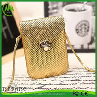 New arrival wholesale fashion candy leather golden designer hobo purses