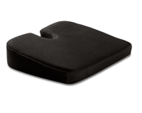 Soft&Care Seat Cushion Memory Foam + Cooling Pad. Premium Chair Seat and Car Cushion (Black )