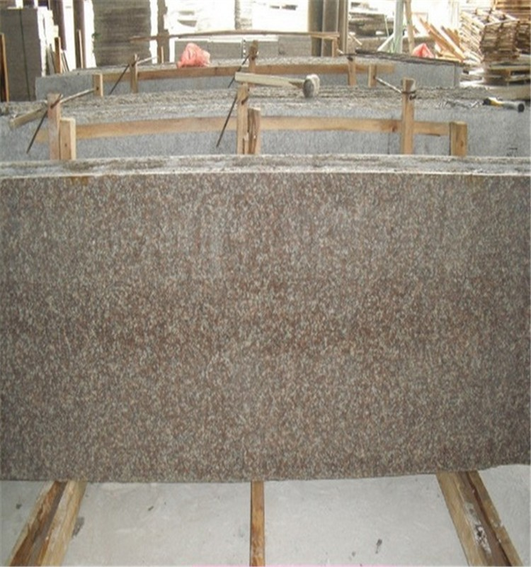 Polish, Flamed Cheap Chinese Peach Red Granite G687 Cut to Size, Slab