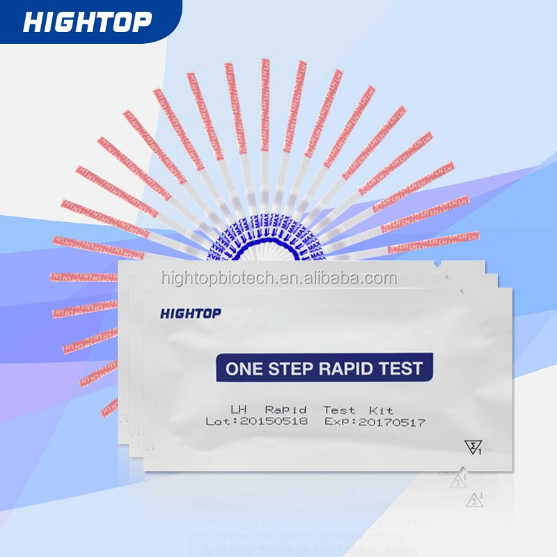 Lh Ovulation Rapid Test Kit Self-Testing, Strip, cassette, midstream, CE certificate