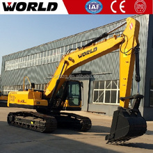 W2215 21ton World excavator price with doosan travel motor