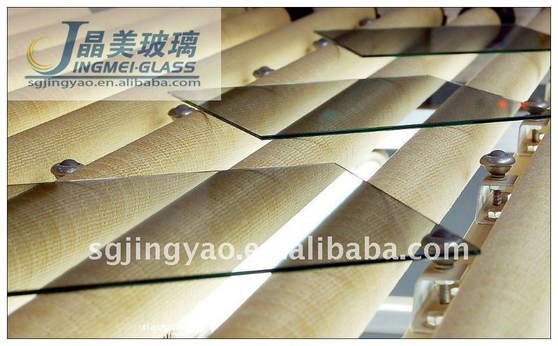 Clear decorative glass panels / glass plates / glass boards
