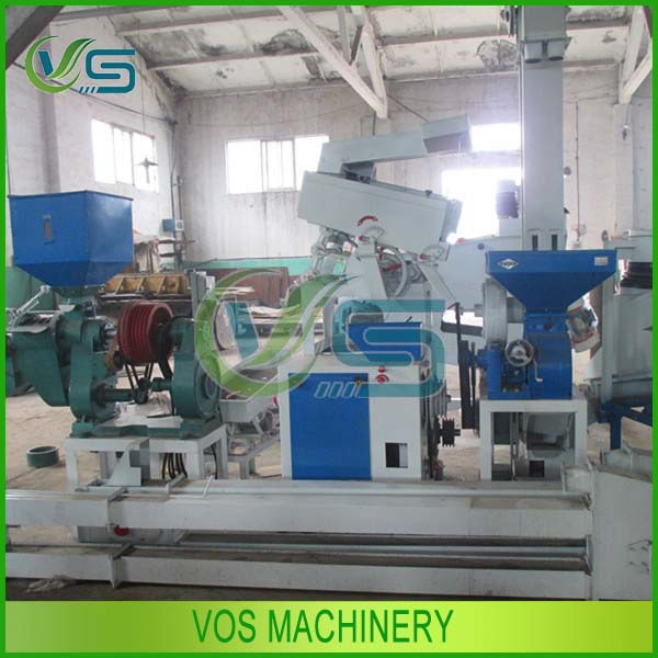 Good Used Grain Processing Machinery Mini Rice Mill Plant