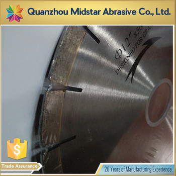 Low Price 14 inch diamond granite cutting blades of China