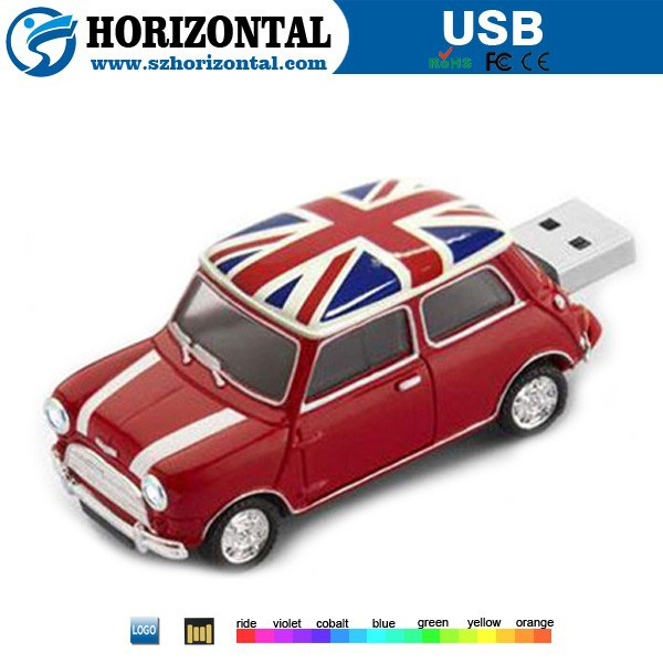Factory price oem logo cute car shape 1tb usb flash drive, usb flash drive for mini cooper ,car pen drive