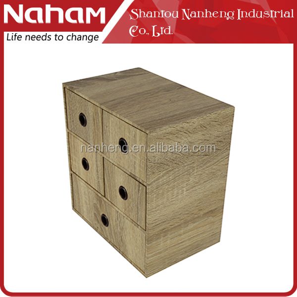 NAHAM modern office wood school desk wooden desktop organizer