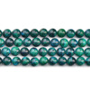 Phoenix Green Beads Round Loose Stone For Necklace Bracelet Making