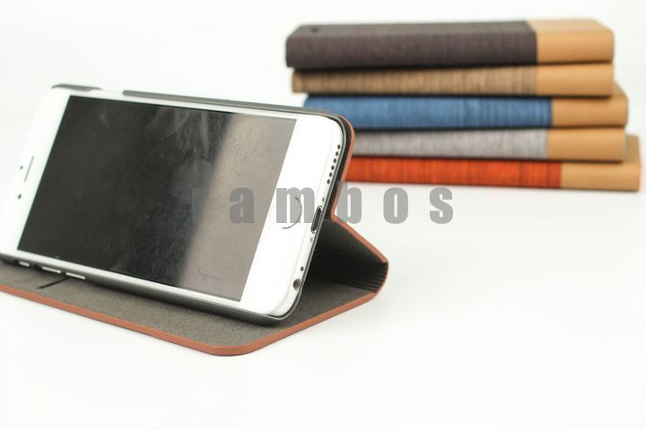 PU Leather Cell Phone Cases Flip Wallet Cover Stand with Card Slot for Samsung Galaxy Young S6310