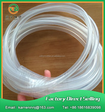 2mm flexible silicone tube, rubber silicone flexible hose