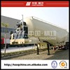 3axle Bulk Cement Tanker Transport Semi