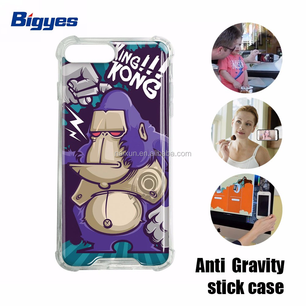 bigyes 2017 hot sale anti gravity mobile cell phone case for huawei p8 lite p9 lite