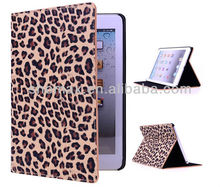 For Ipad2/3/4 Leather Case, PU Case For Ipad2/3/4 Folio Cover