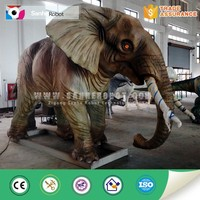 Customized simulation animatronic elephant