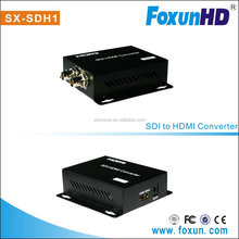 BNC to HDMI Converter, with reclocking 3G SDI / HD-SDI / SD SDI, support resolution up to 1080p