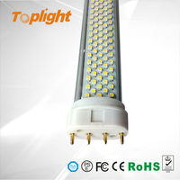 Led 2g11 T8 Tube 8w replace Philip 18w fluorescent lamp Aluminum and PC