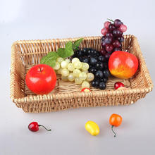 hot sale cheap wicker basket for food