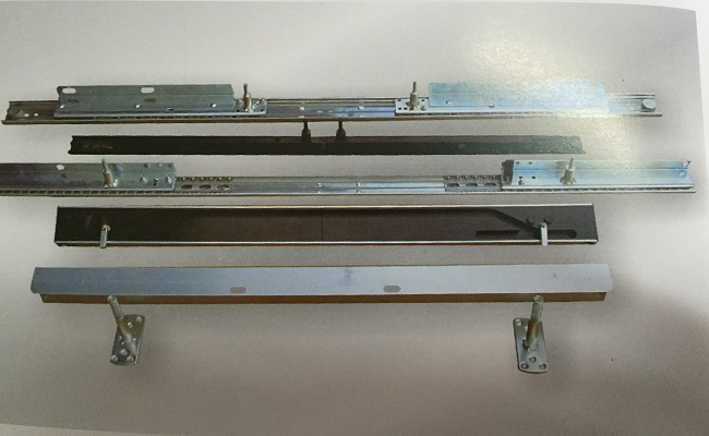 table slide, table slide rail, telescopic slide for table 1800MM