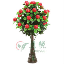 Zhejiang Yongyue plastic fruit Artificial crab apple(0160-YY057)