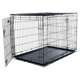High quality solid metal wire dog crate cage pet cat cage