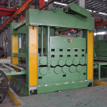 HR CR Steel Plate Leveling Machine Cut To Length Machine