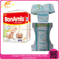 Super Absorbent Dry Soft Cotton sleepy baby diaper for africa
