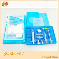 sterile disposable anesthesia surgical tray