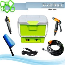 (04127) Best selling 16L tank green portable mobile car wash equipment power wash