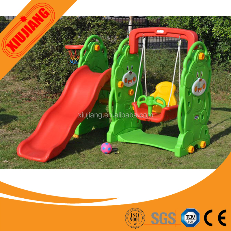 Amusement play park baby single swing for soft playground